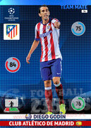 2014/15 CHAMPIONS LEAGUE® TEAM MATE Diego Godín #56