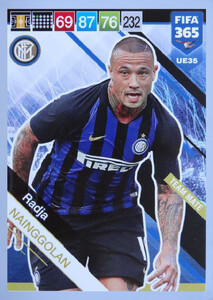 UPDATE 2019 FIFA 365 TEAM MATE Radja Nainggolan #35