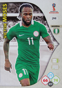 WORLD CUP RUSSIA 2018 TEAM MATE NIGERIA MOSES 241