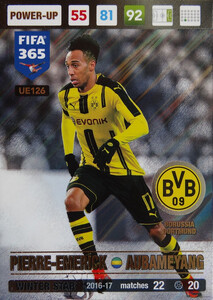 UPDATE 2017 FIFA 365 WINTER STAR AUBAMEYANG #126