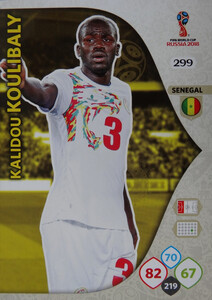 WORLD CUP RUSSIA 2018 TEAM SENEGAL KOULIBALY 299