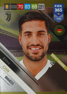 2019 FIFA 365 FANS IMPACT SIGNING  Emre Can #176