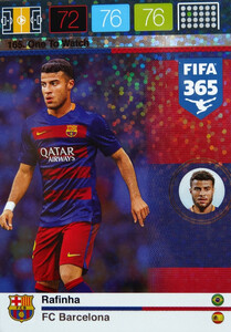 2016 FIFA 365 ONE TO WATCH Rafinha #165