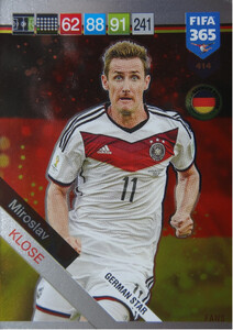 2019 FIFA 365 GERMAN STAR Miroslav Klose #414