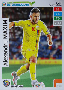 ROAD TO EURO 2020 TEAM MATE  Alexandru Maxim 178