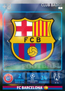 2014/15 CHAMPIONS LEAGUE® LOGO FC Barcelona #7