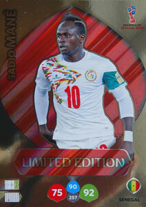 WORLD CUP RUSSIA 2018 LIMITED SENEGAL Sadio Mane