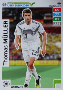 ROAD TO EURO 2020 TEAM MATE Thomas Müller 89