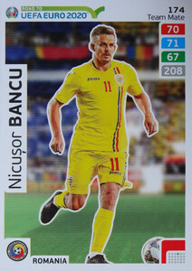 ROAD TO EURO 2020 TEAM MATE Nicușor Bancu 174