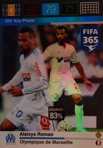 2016 FIFA 365 KEY PLAYER Alaixys Romao #209
