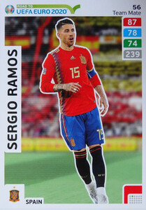 ROAD TO EURO 2020 TEAM MATE Sergio Ramos 56