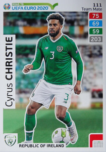ROAD TO EURO 2020 TEAM MATE Cyrus Christie 111