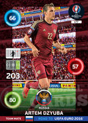 ROAD TO EURO 2016 TEAM MATE Artem Dzyuba #177