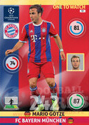 2014/15 CHAMPIONS LEAGUE® ONE TO WATCH   Mario Götze #97