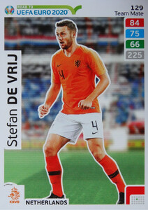 ROAD TO EURO 2020 TEAM MATE Stefan de Vrij 129