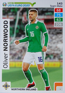 ROAD TO EURO 2020 TEAM MATE Oliver Norwood 143