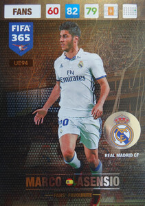 UPDATE 2017 FIFA 365 FANS' FAVOURITE MARCO ASENSIO #94
