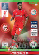 2014/15 CHAMPIONS LEAGUE® MASTER  Daniel Sturridge #162
