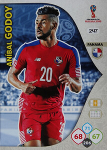WORLD CUP RUSSIA 2018 TEAM MATE PANAMA GODOY 247