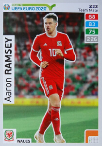 ROAD TO EURO 2020 TEAM MATE  Aaron Ramsey 232
