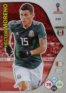 WORLD CUP RUSSIA 2018 TEAM MATE MEKSYK MORENO 228