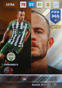 UPDATE 2017 FIFA 365 GAME CHANGER GERGO LOVRENCSICS #116