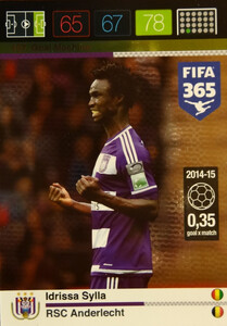 2016 FIFA 365 GOAL MACHINE Idrissa Sylla #157