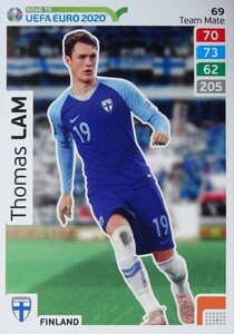 ROAD TO EURO 2020 TEAM MATE Thomas Lam 69
