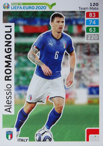ROAD TO EURO 2020 TEAM MATE Alessio Romagnoli 120