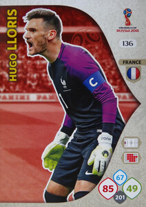 WORLD CUP RUSSIA 2018 TEAM MATE FRANCJA LLORIS 136