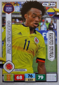 ROAD TO RUSSIA 2018 TEAM MATE KOLUMBIA CUADRADO 09
