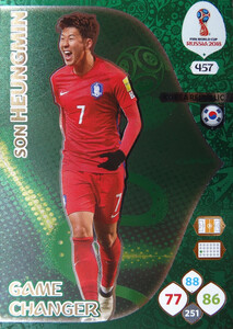 WORLD CUP RUSSIA 2018 GAME CHANGER HEUNGMIN 457