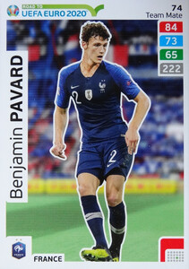 ROAD TO EURO 2020 TEAM MATE Benjamin Pavard 74