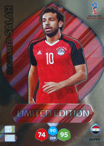 WORLD CUP RUSSIA 2018 LIMITED EGIPT Mohamed Salah