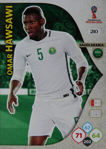 WORLD CUP RUSSIA 2018 TEAM MATE ARABIA SAUDYJSKA HAWSAWI 210