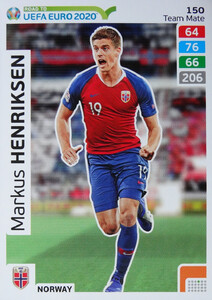 ROAD TO EURO 2020 TEAM MATE Marcus Henriksen 150