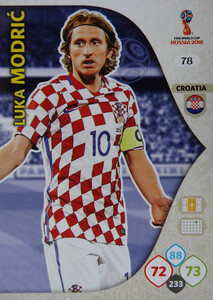 WORLD CUP RUSSIA 2018 CHORWACJA TEAM MATE MODRIĆ 78