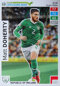 ROAD TO EURO 2020 TEAM MATE Matt Doherty 112