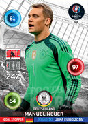 ROAD TO EURO 2016 GOAL STOPPER Manuel Neuer #308