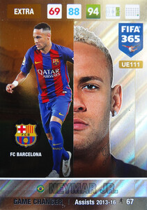 UPDATE 2017 FIFA 365 GAME CHANGER NEYMAR Jr. #111