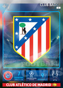 2014/15 CHAMPIONS LEAGUE® LOGO Club Atlético de Madrid #6