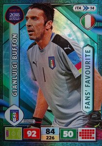 ROAD TO RUSSIA 2018 FANS FAVOURITE WŁOCHY BUFFON 14
