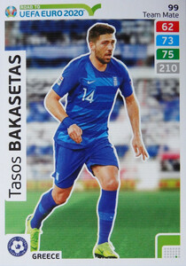 ROAD TO EURO 2020 TEAM MATE Tasos Bakasetas 99