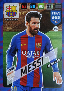 2018 FIFA 365 TEAM MATE Lionel Messi #115