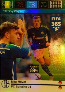 2016 FIFA 365 KEY PLAYER Max Meyer #221