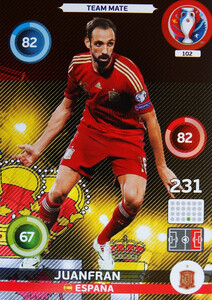 EURO 2016 TEAM MATE Juanfran #102