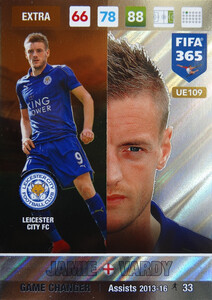 UPDATE 2017 FIFA 365 GAME CHANGER JAMIE VARDY #109