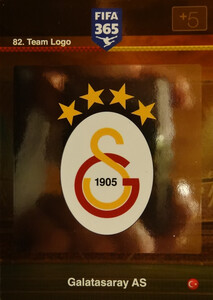 2016 FIFA 365 TEAM LOGO GALATASARAY AS #82