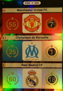 2016 FIFA 365 LOGO 	Manchester United FC, Olympique de Marseille, Real Madrid CF #7