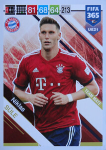 UPDATE 2019 FIFA 365 TEAM MATE 	Niklas Süle #UE21